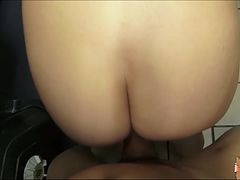 Cute and sexy Dixie Belle gets picked up fucked at a public toilet