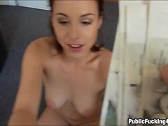 Czech girl picked up and fucked with stranger guy for cash