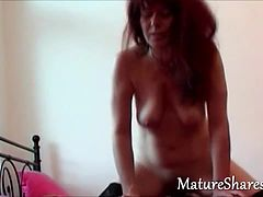 hot milf sucks hard and long