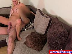 Sex auditions euro british pussy pounded